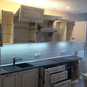 Кухня линейная КЗ-13