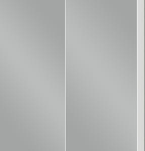 Шкаф навесной зеркальный 2-дверный