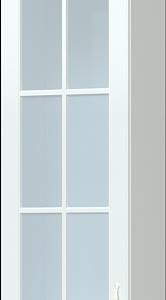 Шкаф навесной 1-дверный